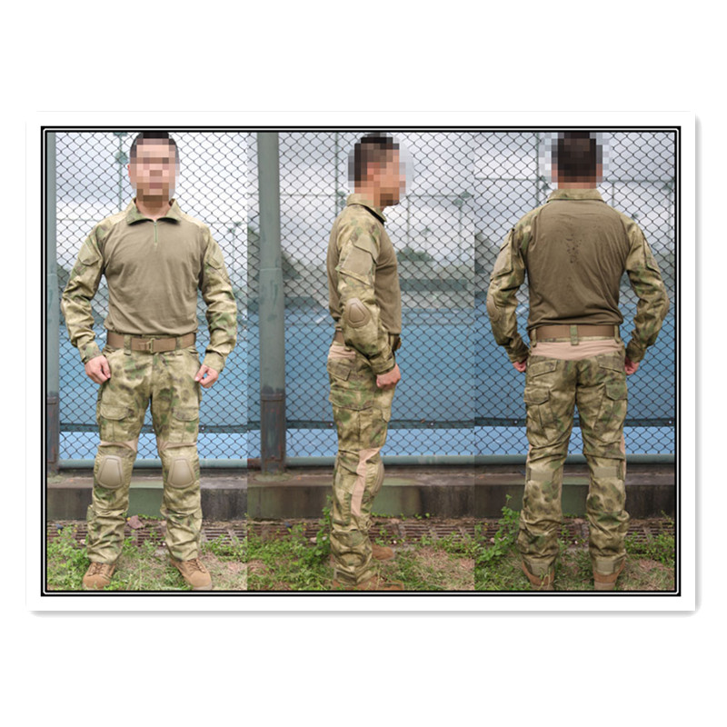 Army Military Uniform EMERSON BDU Gen2 Combat Shirt & Pants & Pads AT-FG combat airsoft camouflage uniform EM6922 combat army bdu emerson military airsoft painball coyote olive em6905