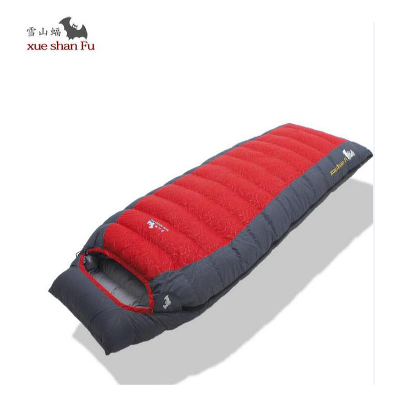 Ultralight camping sleeping bag adult fill 400g 600g 800g 1000g Duck down sleeping bag for outdoor recreation travel accessories