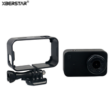 XBERSTAR Protective Housing Case Cover for Xiaomi Mijia 4K Mini Action Camera Border Side Frame Box