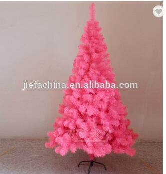 Christmas New Design Christmas Supplies Orange Color PET Christmas Tree