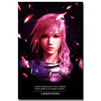 Шелковый плакат гобелен игра последняя фантазия Final Fantasy XV вариант 3