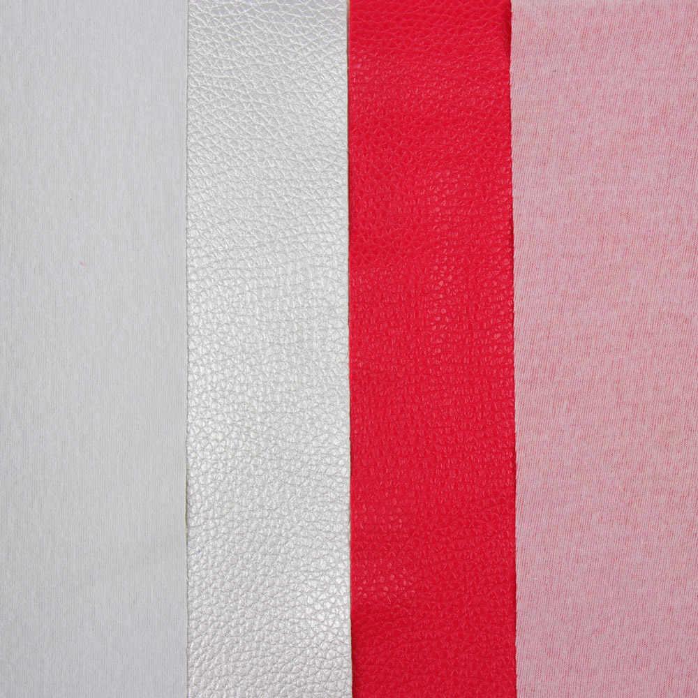 JOJO Луки 22*30 см 1 шт. искусственная Синтетическая кожа ткань для рукоделия сплошной мягкий личи лист для DIY волос бант домашний декор одежда Шитье