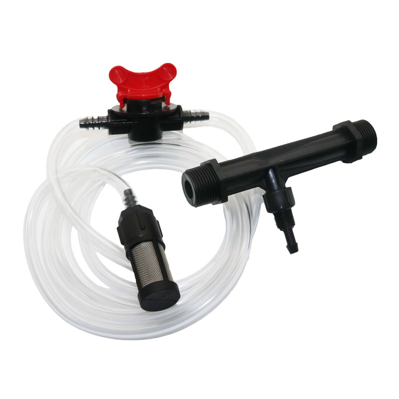 Automatic Fertilizer Kit 1/2' Or 3/4' Venturi Tube Irrigation Water Hose With Flow Control Switch & Metal mesh filter 4 Pcs
