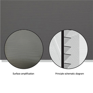 """Image 3 - ALR Umgebungs Licht Ablehnung Projektion Bildschirme 80 """"Ultra dünne grenze Rahmen Spezialisieren für Optoma Xiaomi UST projektoren"""