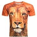Marca 2016 nova chegada europa e américa Hot 3d camiseta Casual t-shirt Tops t-shirt dos 21 cores M-4XL