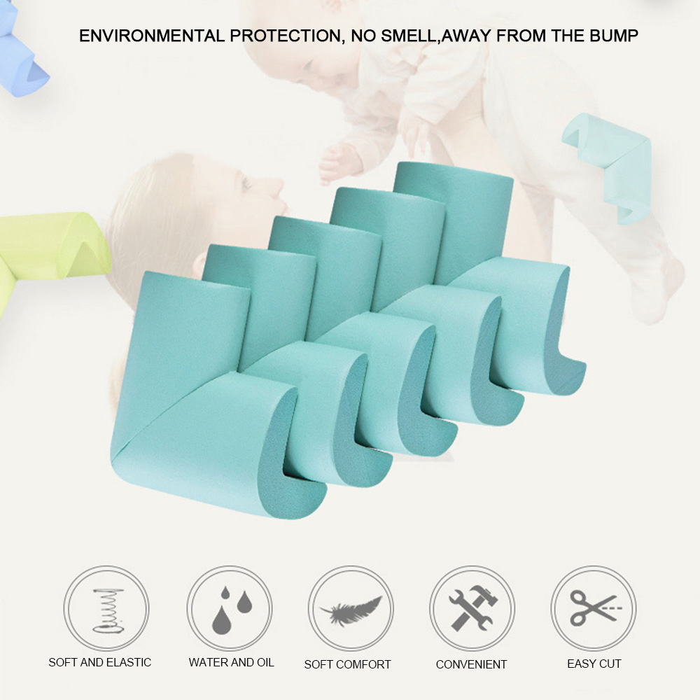 4pc/ Lot Soft Baby Safe Corner Protector Baby Kids Desk Table Corner Protector Guards Children Safety Children Safe Edge Guards