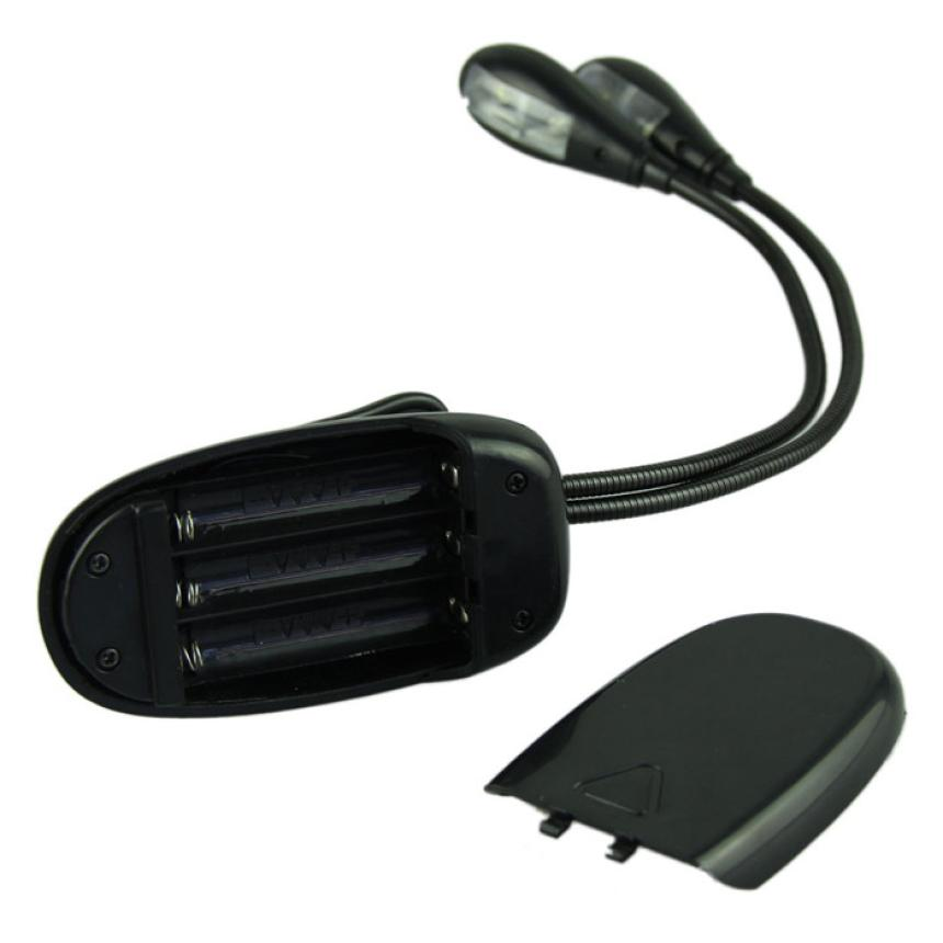 New Qualified Adjustable Goosenecks Clip on LED Lamp for Music Stand and Book Reading Light Lamps & Lighting D48Au15A