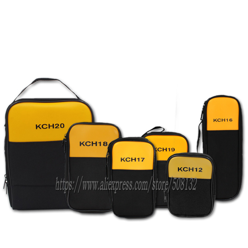 Carry Soft Case Bag KCH12 KCH16 KCH17 KCH18 KCH19 KCH20 Use For Clamp Meter Multimeter KYORITSU Fluke Uni-T HIOKI Testo Sanwa