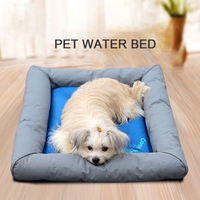Pet Dog Bed Water Dog House Soft Material Nest Dog Baskets Fall And Summer Cold Kennel For Cat Puppy Summer Pet Cooling Mat Ice