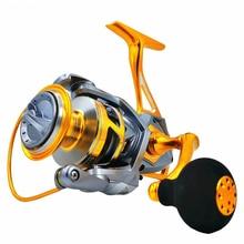 Mavllos Saltwater Jigging Reel 10BB Speed Ratio 5.2:1 Metal Shell Max Drag 20kg Sea Waterproof Boat Fishing Reel