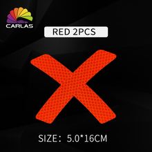 Car Reflective Sticker Prisms Light Reflect Fender Flares Stickers Decal Flim Protective Exterior Accessories