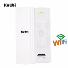 3Km 2.4Ghz 150Mbps Wireless Outdoor CPE Router Wifi Bridge Repeater Extender For Camera Monitoring With 12Dbi Antenna