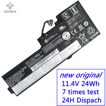 цена на GZSM laptop battery 01AV421 SB10K97578  For Lenovo T470 T570 battery for laptop P51S Series 01AV420 01AV42 laptop battery