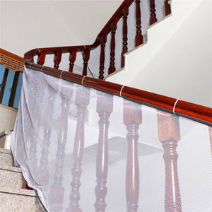 Netting Decoration-Net Protection-Rail Stair-Fence Balcony Hard-Mesh Kids Thick