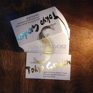 Image 3 - Schöne business karten Kunden gold stempel visitenkarte druck goldfolie Visitenkarte Druck gold stanzen besuchen karten