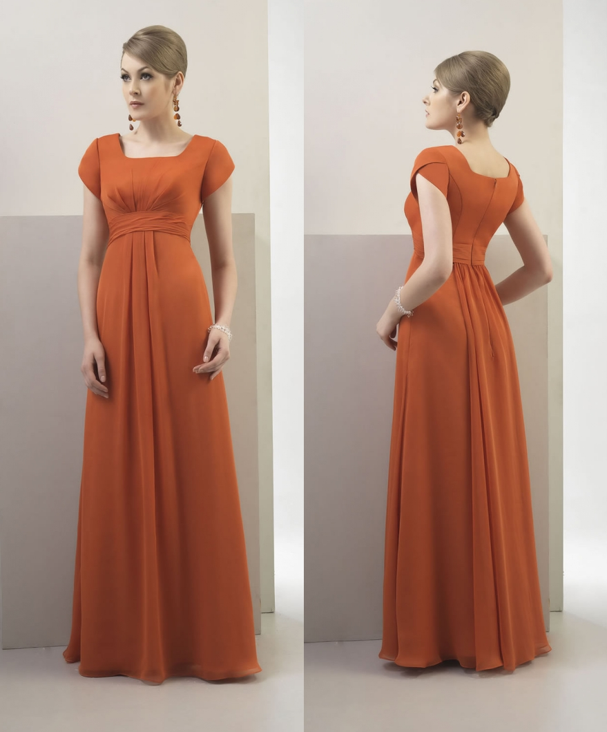 burnt orange bridesmaid dresses - Google Search … | Orange ... |Burnt Orange Gowns