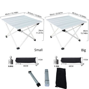 Image 4 - Portable Table Foldable Folding Camping Hiking Outdoor