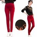 Maternity Pants Plus Velvet Warm Pencil Pants for Pregnant Women Winter Thicken Fleece Pregnancy Clothes Pregnant Trousers