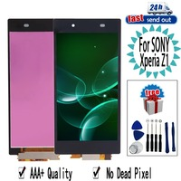 5.0 Z1 LCD For SONY Xperia Z1 LCD Display L39H C6902 C6903 Touch Screen Digitizer Assembly Replacement For SONY Xperia Z1