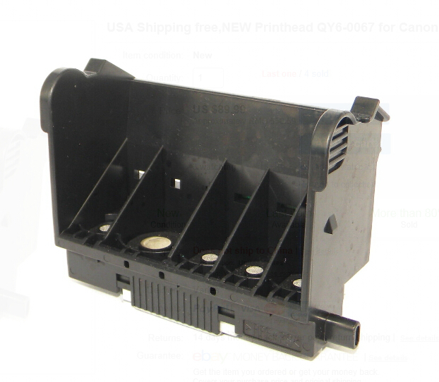 Printer Head for Canon iP5300 MP810 ORIGINAL QY6-0067 QY6-0067-000 Printhead Print Head iP4500 MP610 printhead qy6 0075 print head for canon ip4500 ip5300 mp610mp810mx850 printers