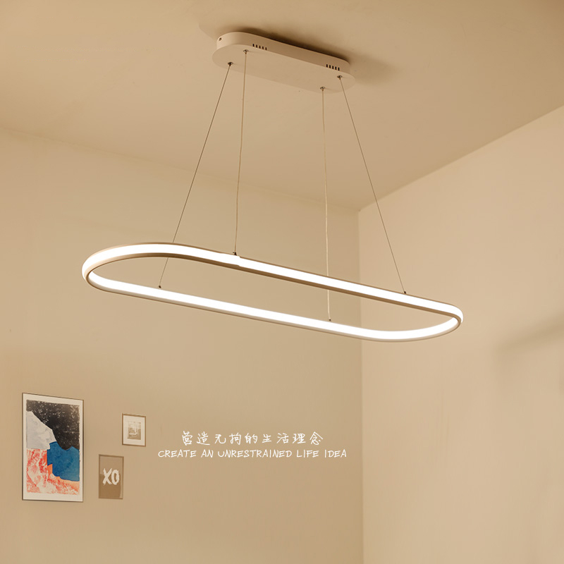 Double Glow Modern led Pendant Light for Kitchen Dining Living Room suspension luminaire Hanging Pendant Lamp Fixtures 40 60 80cm modern led hanging chandeliers for living dining room kitchen light led pendant chandelier indoor lighting luminaire