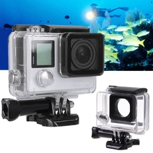 цена на 1 PC Waterproof Cover Diving Protective Housing Underwater Case For GoPro Hero 3 4