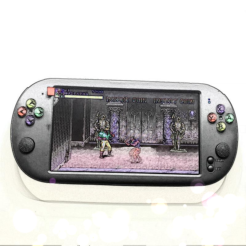 Newest 7 Inch Game Console Portable support for neogeo arcade video games with 1500 free retro mini game 8 bit 16/32 bit console 3