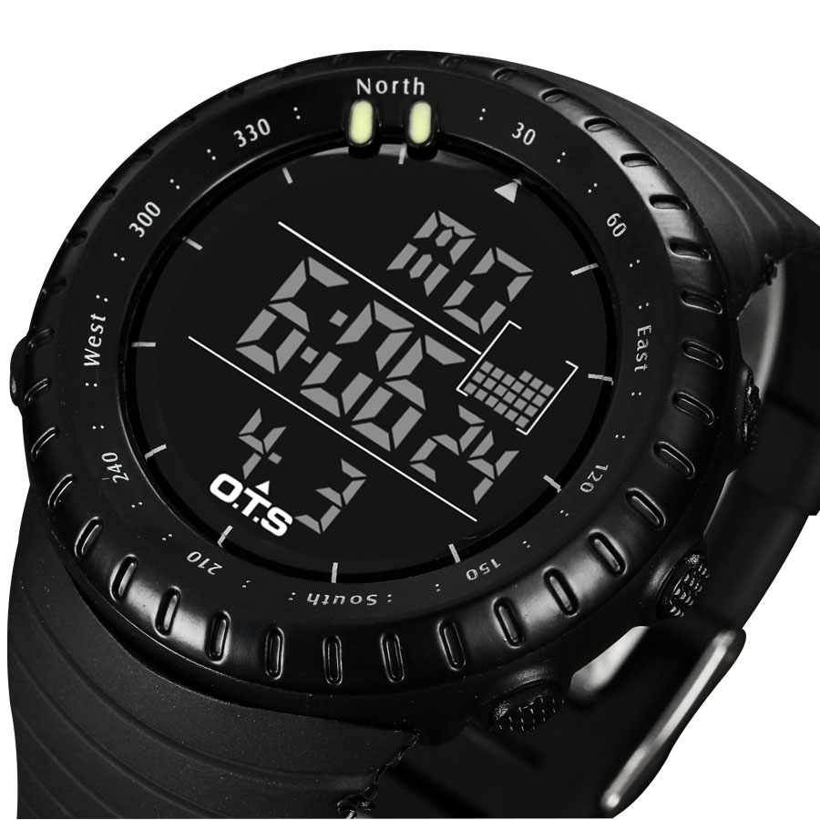 2016 Sport Digital Watch font b Men b font Top Brand Luxury Famous Male LED Watches