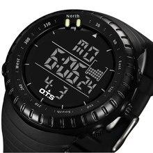 2016 Reloj Digital Del Deporte de Los Hombres de Primeras Marcas de Lujo Famosos Hombres LED Relojes Electrónicos Reloj Digital-reloj Relogio masculino Hodinky