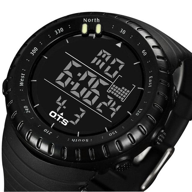 2017 Relógio Digital de Esporte Homens Top Famosa Marca De Luxo Masculino Relógios LED Relógio Eletrônico Digital-relógio Relogio masculino Hodinky
