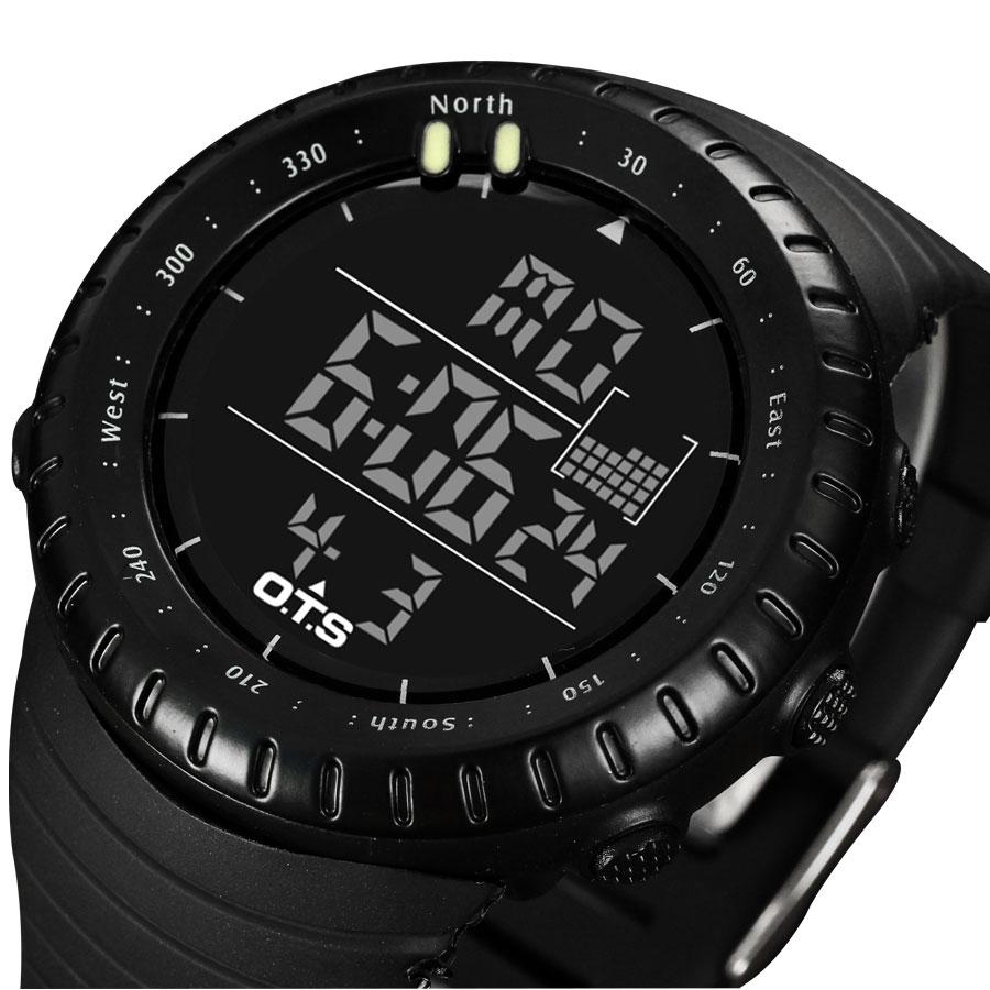 Prix pour 2017 Sport Montre Numérique Hommes Top Marque De Luxe Célèbre Mâle LED Montres Horloge Électronique Numérique-montre Hodinky Relogio Masculino