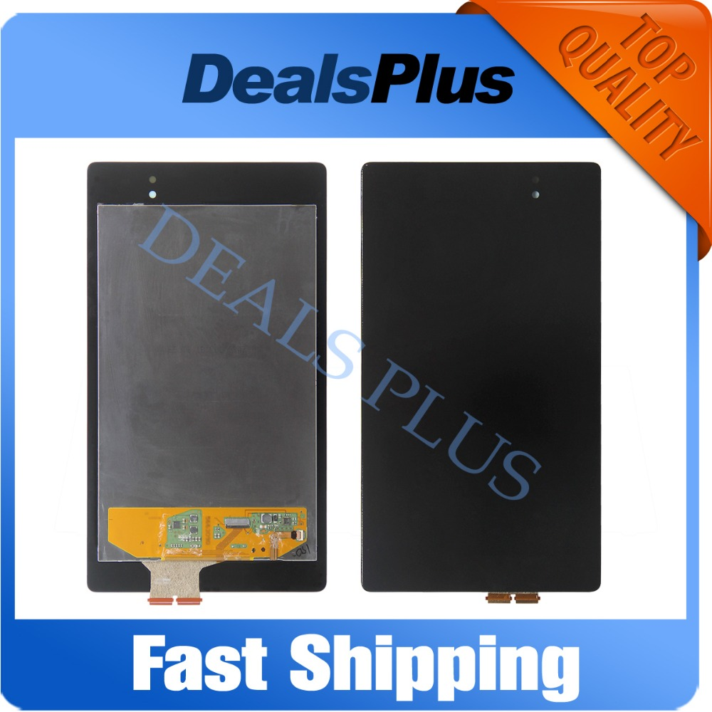 Replacement New LCD Display+Touch Screen Assembly For Asus Google Nexus 7 2nd Gen 2013 ME571 ME571K ME571KL ME572CL K008 Black new original lcd touch screen digitizer with frame for 2013 asus google nexus7 fhd 2nd gen k008 me571 lte 3g free shipping