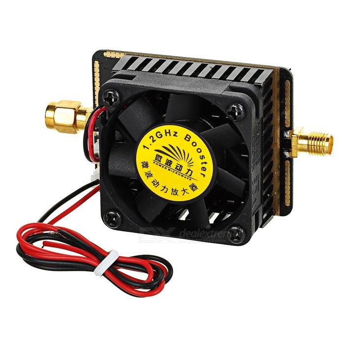 1,2 Ghz 1g2 1,2g 6,5 Watt Bildübertragung Fpv Signal Verstärker Drahtlose Wi-fi Leistungsverstärker Für Fpv Modell Quadcopter Weich Und Rutschhemmend