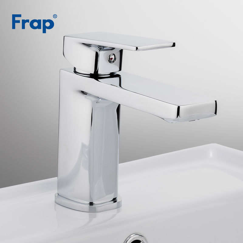 Frap Bathroom Faucet Chrome Basin Faucets Sink Mixer Tap Vanity Hot Cold and Water Tap Washroom robinet salle de bain F1046