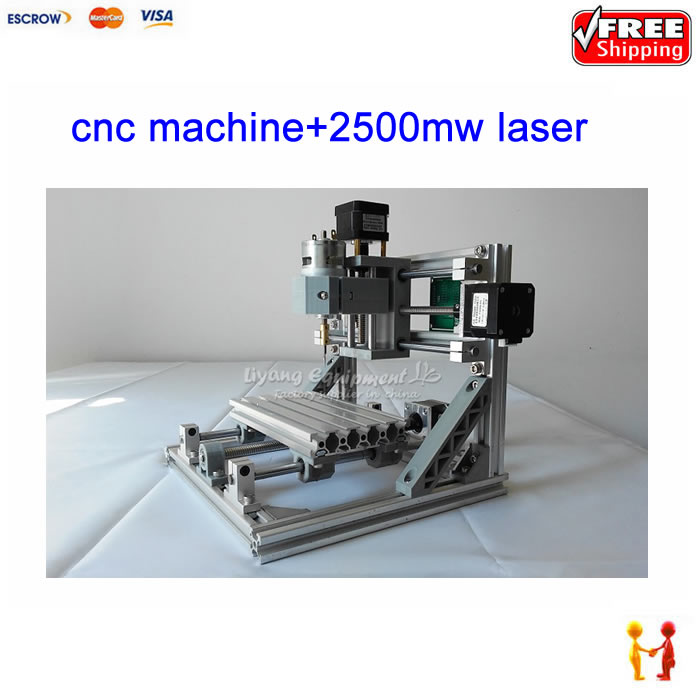 GRBL control cnc 1610 engraving 2500mw laser machine pcb Wood Carving machine diy mini cnc router cnc3018 er11 diy cnc engraving machine pcb milling machine wood router laser engraving grbl control cnc 3018 best toys gifts