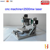 GRBL Control Cnc 1610 2500mw Laser CNC Engraving Machine Pcb Wood Carving Machine Diy Mini