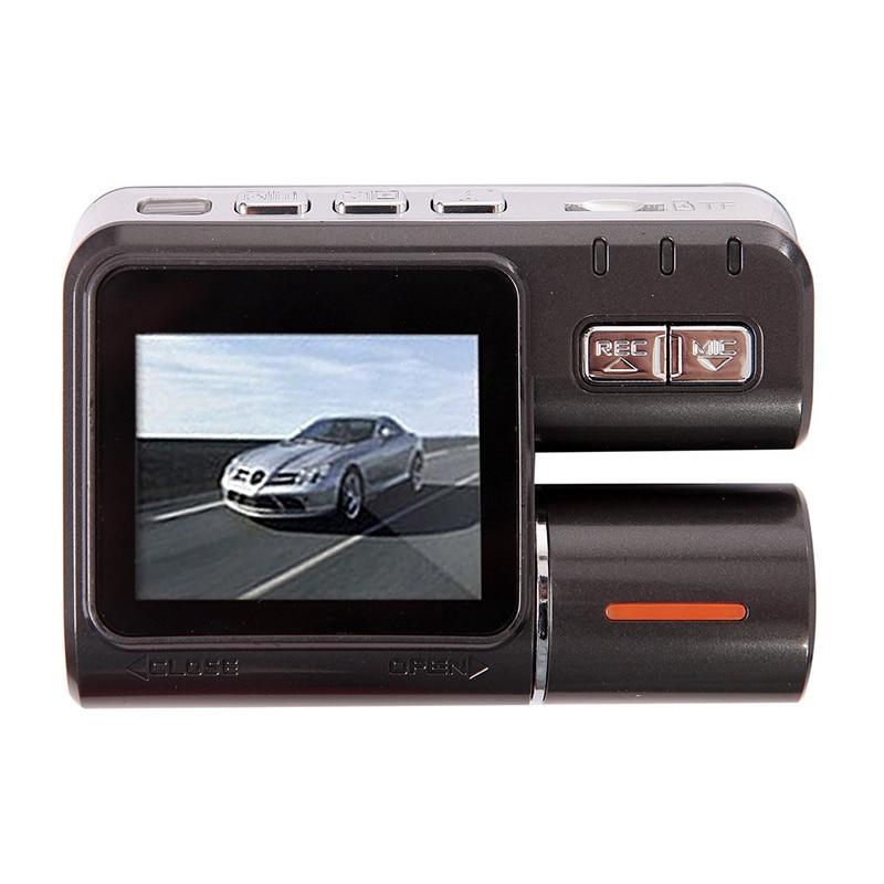 ФОТО Dual Lens Camcorder A20 Auto Car DVR Dual Camera HD 720P Dash Cam Black Box Driving Recorder With Parking Rear lens Cameras