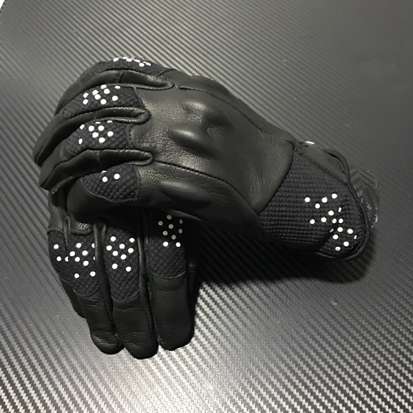New arrival lady women Leather mesh Motorcycle Gloves Racing Armed glove SIZE S M L XL