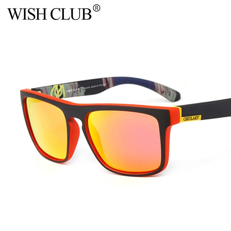 WISH CLUB 2018 Polarized Men Sunglasses For men Driving ...
