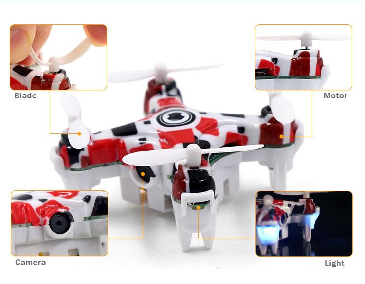 Drone RC USD con 7
