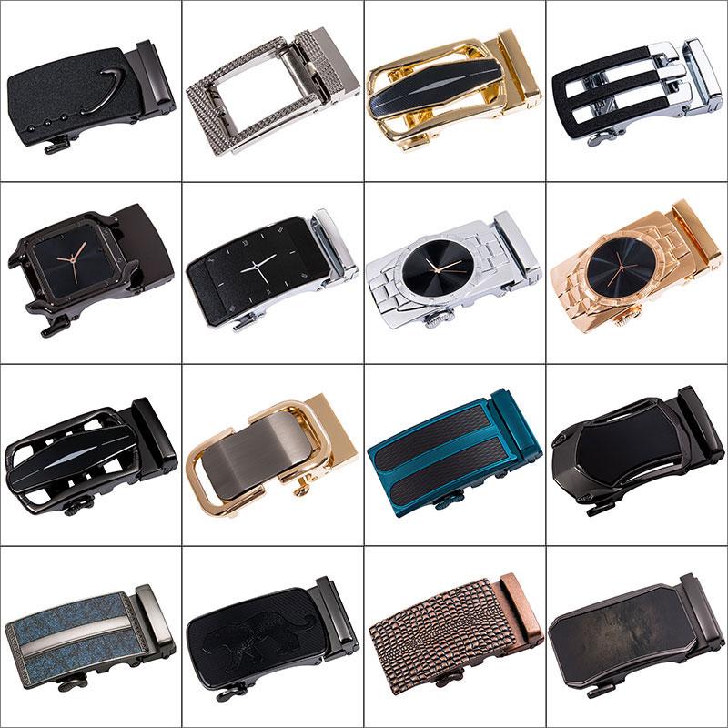 DiBanGu Famous Brand   Belt   Buckles for Men Automatic Buckle without   Belt   Gold Sliver Metal Designer Buckles   Belt   Head