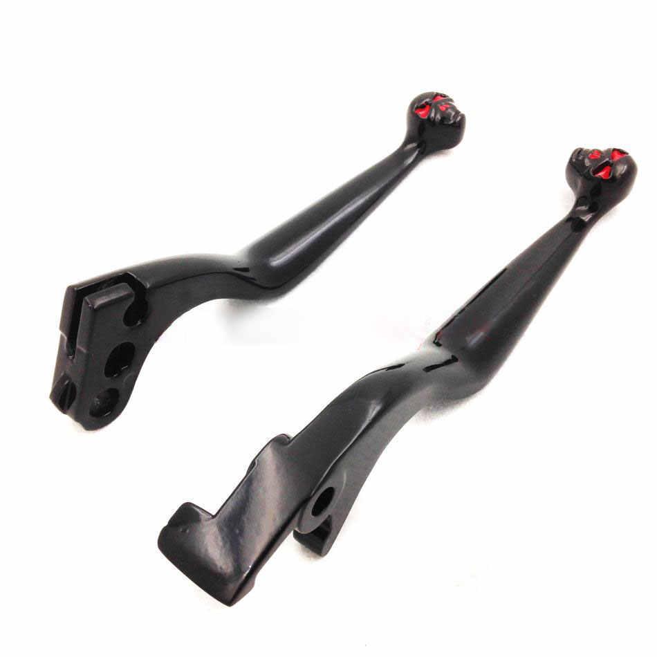 Череп тормозной рычаг сцепления для Honda Fireblade Shadow VT 600 750 1100 VT1100C2/ACE VTX1300 Magna VF750C CB750