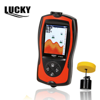 Lucky FF1108 1CT Echo Sounder For Fishing Portable Fish Finder Sonar For Fishing Alarm Camera For