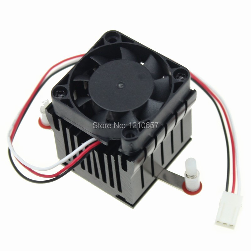 20 pieces lot Aluminium Heatsink Fin Cooler Fan For PC Northbridge Chipset Cooling