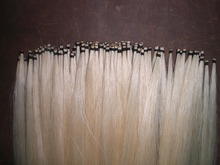 38 Hanks White Horse hair in hanks 6 grams in 32 inches Violin bow hair