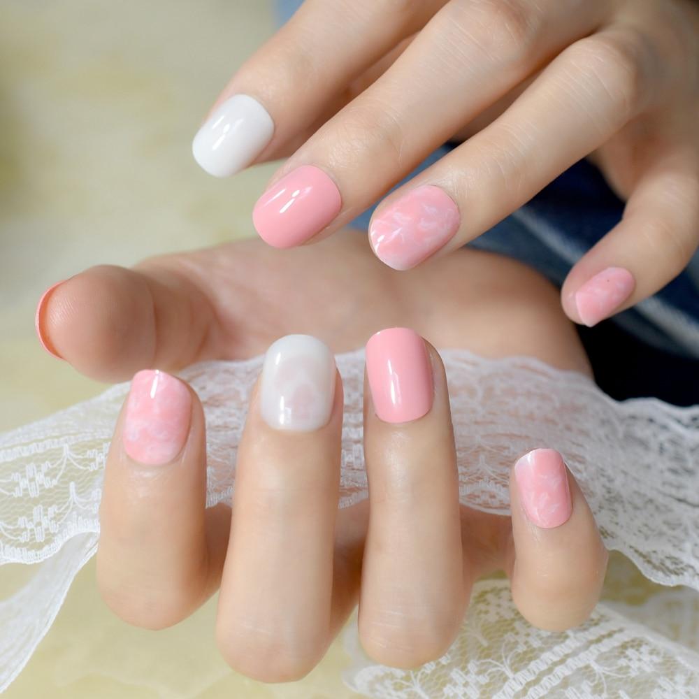 shiny orange pearl white artificial