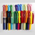 40 Pieces / Pack Dental Orthodontic Ligature Ties Colorful Rubber Band Elastic ( 1 Ligature Sticks = 26 Ligature Ring )