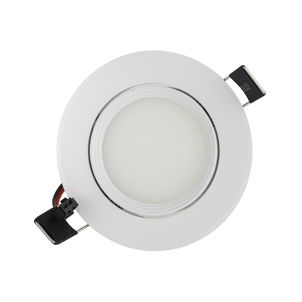 Us 45 0 10 Off Round Led Cob Downlight 3w 6w 9w Recessed Ceiling Down Light Spot Dimmable Included Diver In