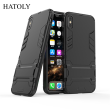sFor Cover iPhone XS Max Case Rubber Robot Armor Phone Shell Hard Phone Case for iPhone XS Max Cover for Apple iPhone XS Max