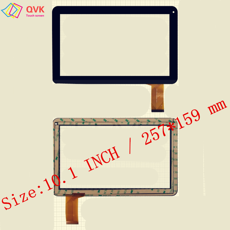 Black White 10.1 Inch P/N LHJ0171-F10A1 Xn1338v1 QLT 1007 -PW LKW0171 TE-1010-0053 TPT-101-295 Touch Screen Panle
